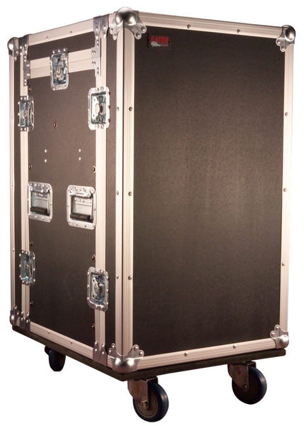 10U Top, 14U Side Road Rack Case (G-TOUR 10X14 PU)