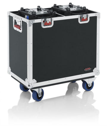 Flight Case for Two 350-Style Moving Head Lights (GTOURMH350)