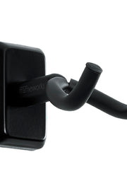 Black Wall Mount Guitar Hanger (GFW-GTR-HNGRBLK)