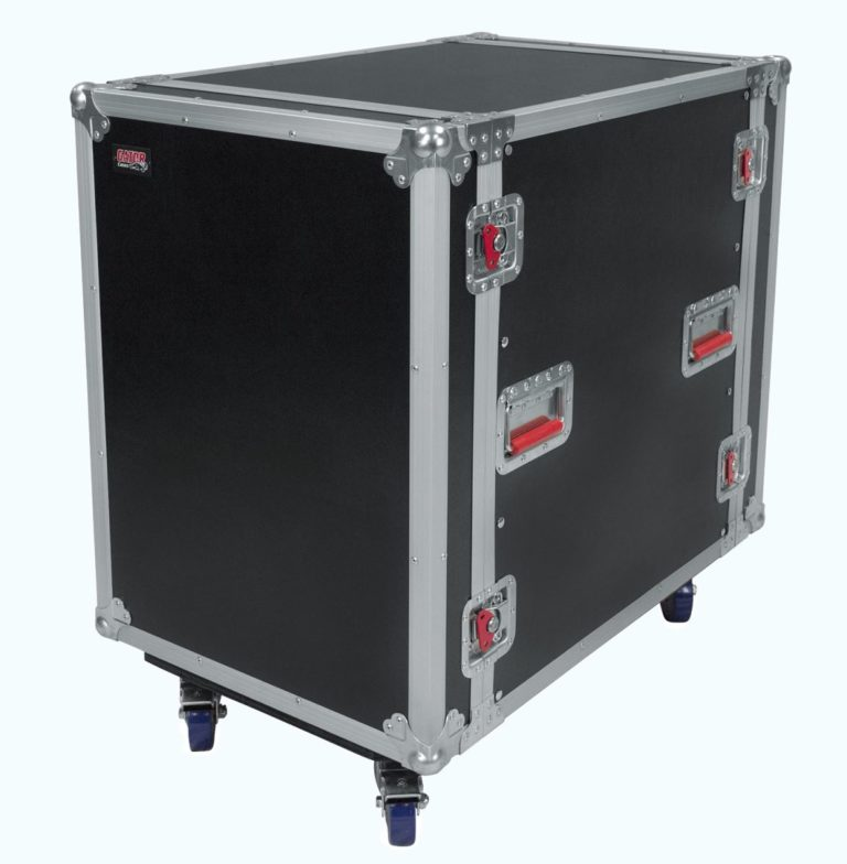 16U, 24″ Deep Audio Road Rack Case w/ Casters (G-TOUR16UCA-24D)