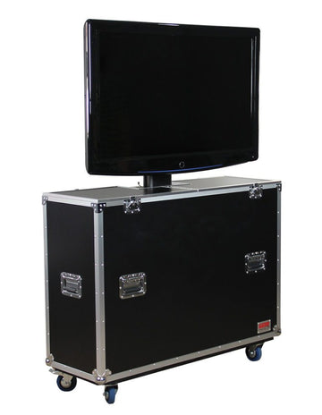 55″ LCD/Plasma Electric Lift Road Case (G-TOUR ELIFT 55)