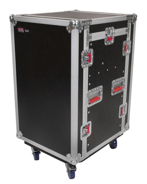 10U Top, 12U Side Road Rack Case (G-TOUR 10X12 PU)