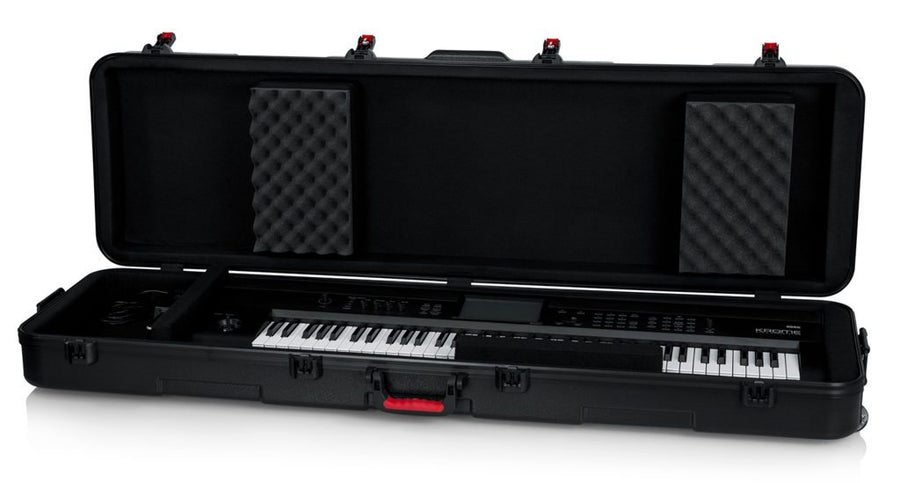 Slim XL 88-note Keyboard Case w/ Wheels (GTSA-KEY88SLXL)