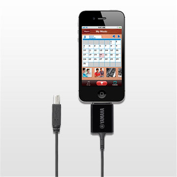 Yamaha i-UX1 USB host to apple 30-pin cable for MIDI apps on ios devices