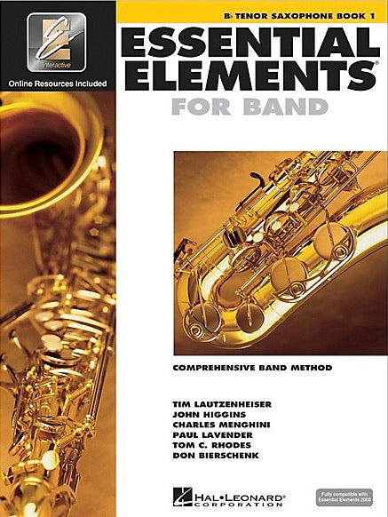 Essential Elements for Band: Book 1 - Bb Tenor Saxophone