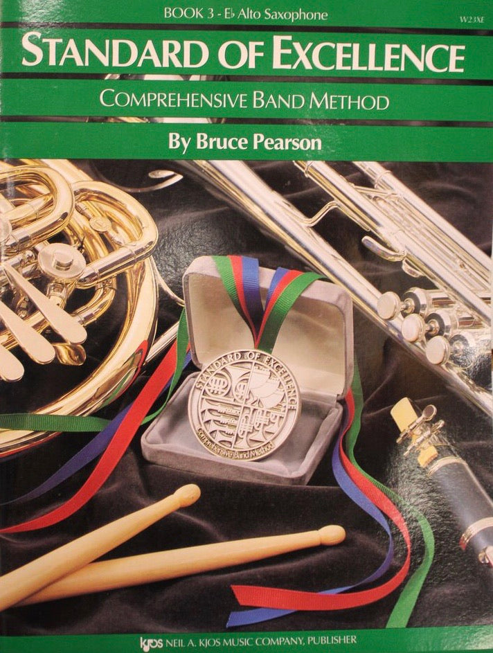 Standard of Excellence: Eb Alto Saxophone Book 3