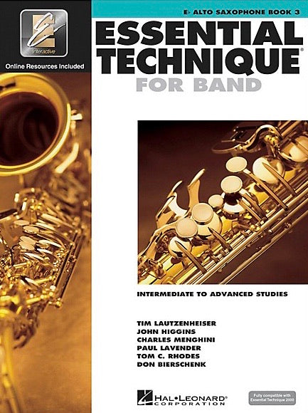 Essential Elements for Band: Book 3 - Eb Alto Saxophone