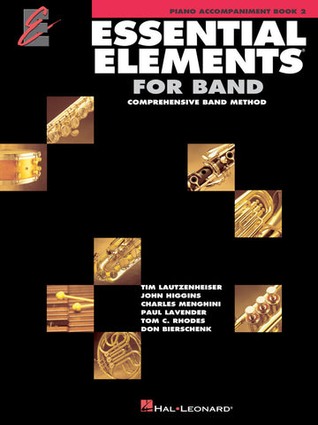 Essential Elements for Band: Book 2 - Piano