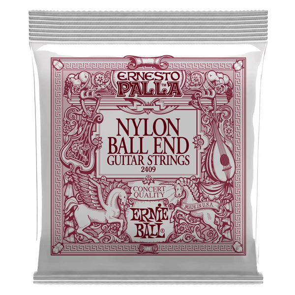Ernie Ball P02409 Nylon Ball End Classical Guitar String Set