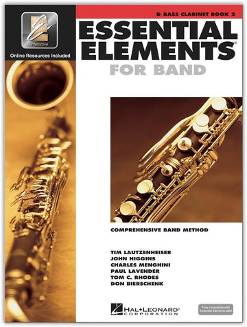 Essential Elements for Band: Book 2 - Bb Bass Clarinet