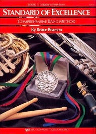 Standard of Excellence: Eb Baritone Saxophone Book 1