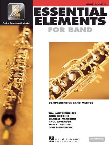 Essential Elements for Band: Book 2 - Oboe