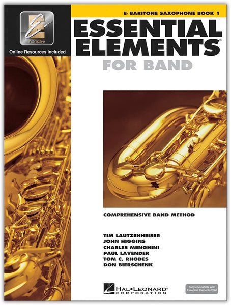Essential Elements for Band: Book 1 - Eb Baritone Saxophone