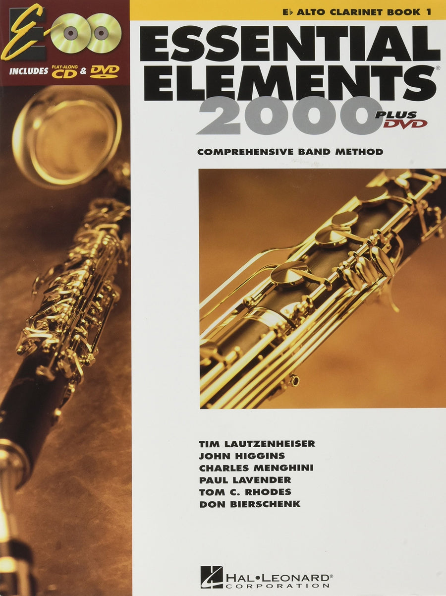Essential Elements for Band: Book 1 - Eb Alto Clarinet