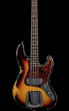 Fender 60th Anniversary Roadworn Jazz Bass 3-Tone Sunburst