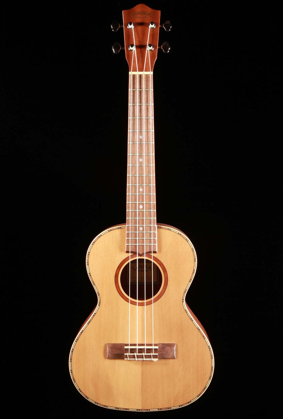 Lanikai CDST-T Solid Cedar Top Satin Finish Tenor Ukulele