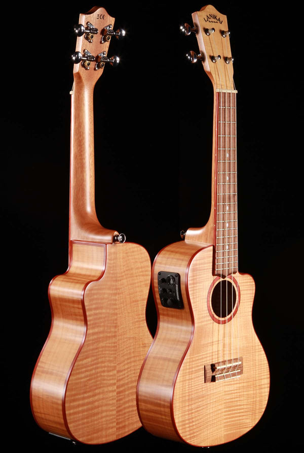 Lanikai FM-CEC Flame Maple Concert Ukulele Cutaway with Electronics