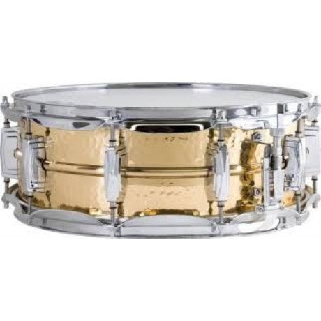 "Ludwig 5""x14"" Hammered Bronze Snare Drum"