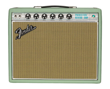 Fender Limited Edition 68 Princeton Reverb Surf Green Amp