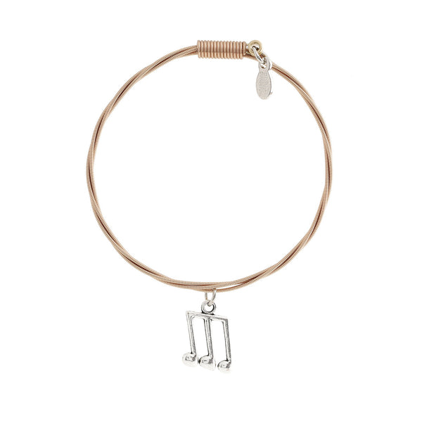 "MUSIC NOTES – ""I LOVE ROCK N' ROLL"" Women's Bracelet"