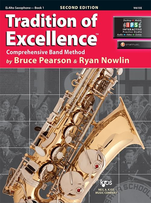 Tradition of Excellence Book 1 Eb Alto Saxophone