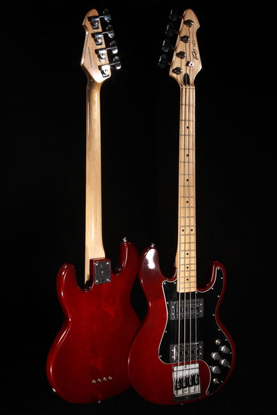 Used Peavey 1978 T-40 Red Electric Bass w/Hardshell Case