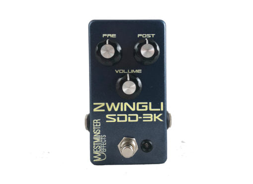 Westminster Effects Zwingli SDD-3K Preamp