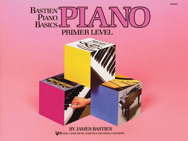 Bastien Piano Basics: Primer Level - Piano