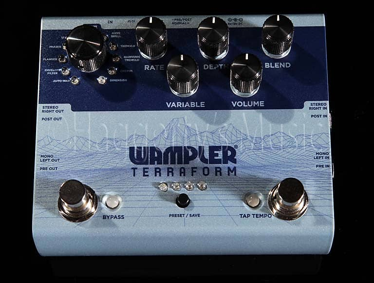 Wampler Terraform Modulation Multi Effect