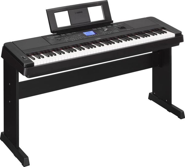 Yamaha Key Arranger Piano with Stand - Black (DGX-660 88)