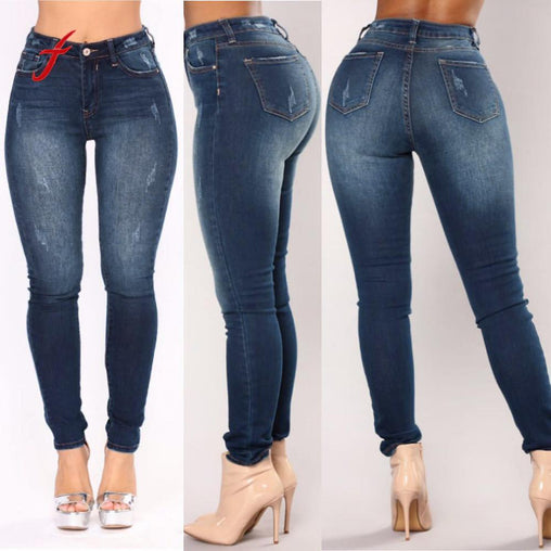 Skinny Washed Jeans