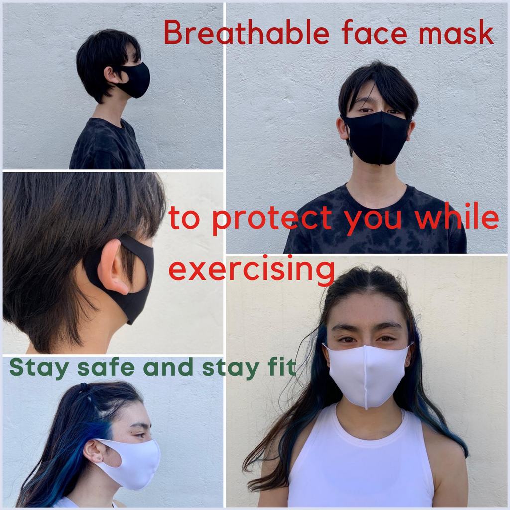 2-Pack Lightweight Breathable Face Mask (reusable)