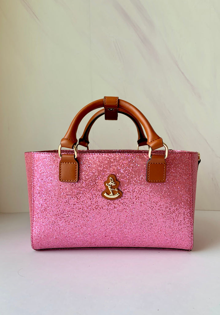 Cube Tote Bag TWINKLE, light pink