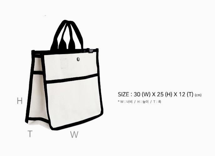 Penny Canvas Tote bag, black. Limited edition!