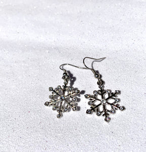 DROP2 SNOWFLAKE EARRINGS - SEL411