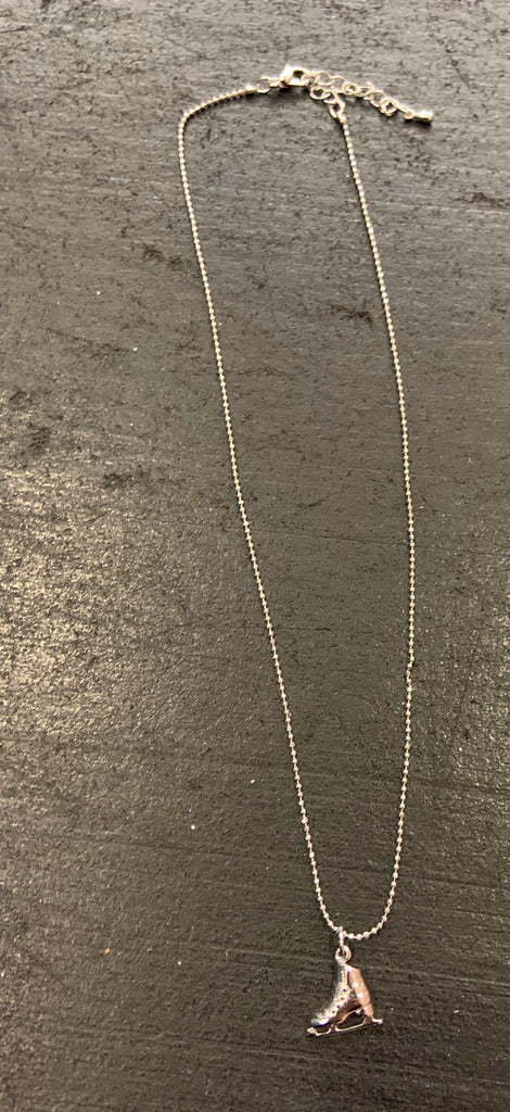 Necklace-Titanium gold plated