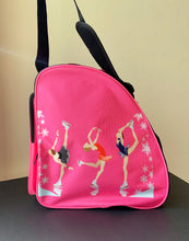 Load image into Gallery viewer, CUBE Shoulder Bag Pink with three spinners.