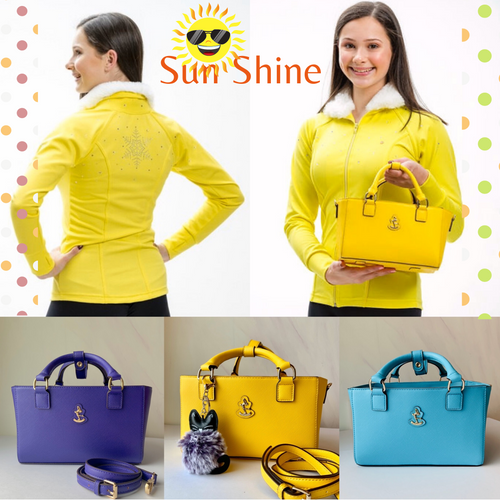 Sun Shine Tote Package with Saffiano bag
