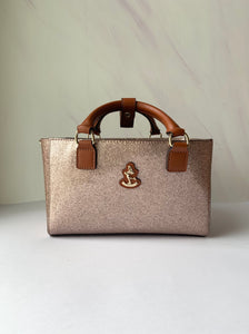 Cube Tote Bag SHINY, rose gold