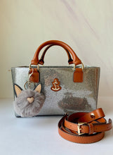 Load image into Gallery viewer, Cube Tote Bag TWINKLE, silver
