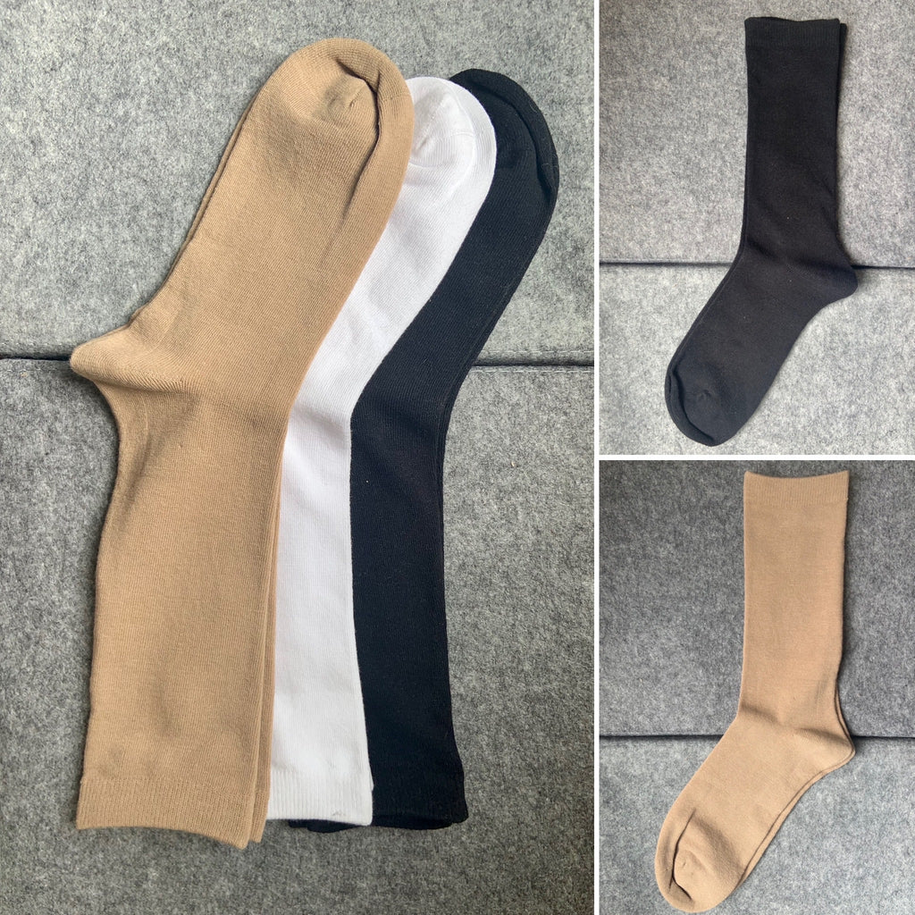 Seamless 78% Cotton blend Skate Socks (Buy 2 or more and get 20%off orders)