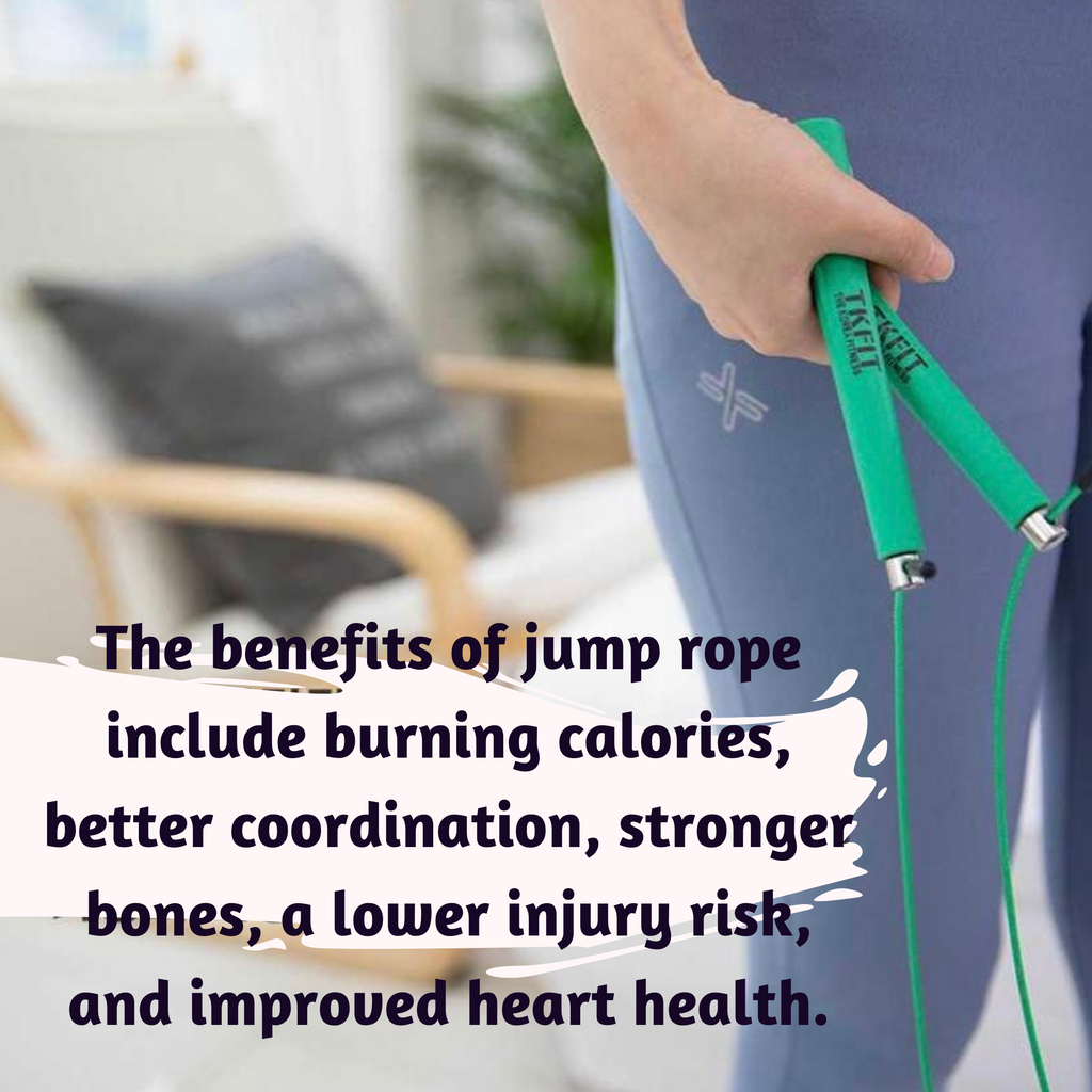 JUMP ROPE-Adjustable Wire Jump Rope