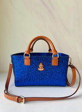Load image into Gallery viewer, Cube Tote Bag BLING, blue/B