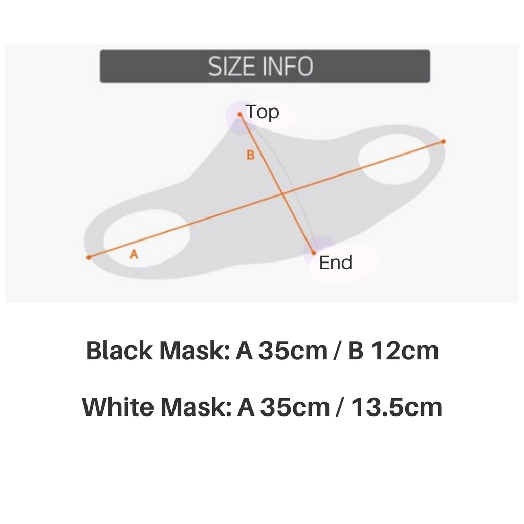 NEW! 2 Pack Copper Yarn Face Mask, reusable breathable mask for Summer. One size (adults)