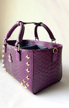 Load image into Gallery viewer, Cube Tote Bag EDGE, Purple