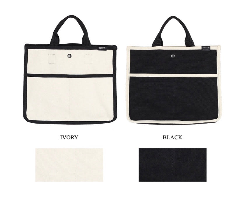 Penny Canvas tote bag, white. Limited edition!
