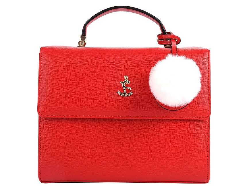 Heidi Bag, red. Pre-order available.