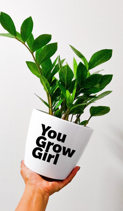 Pot - You Grow Girl