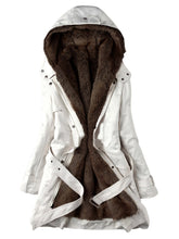 Load image into Gallery viewer, Women's Hooded Faux Fur Lined Warm Coats Parkas Outwear (Free Shipping)