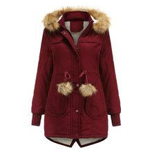 Load image into Gallery viewer, Featured Winter Warm Plus Velvet Coat